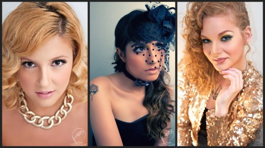 Fashion Beauty Shoot with some Triple Threats!